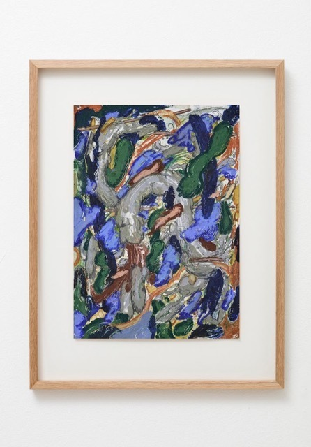 Sami Havia, 'Shake', 2018, Drawing, Collage or other Work on Paper, Oil pastel, acrylic and colored pencil on paper, Massey Klein Gallery