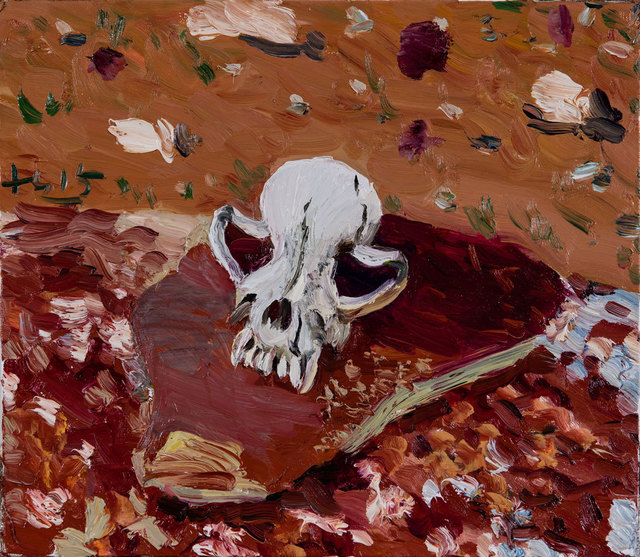 , 'Dog Skull,' 2015, Faurschou Foundation