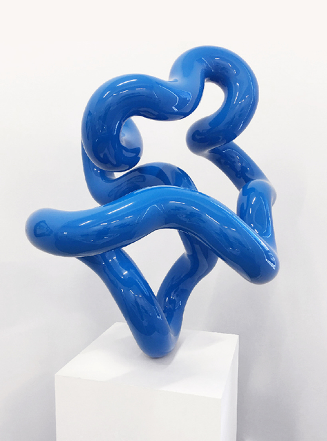 , 'Blue Squiggle,' 2016, Winsor Gallery
