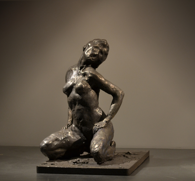 , 'Kneeling Woman,' 2012, KM Fine Arts