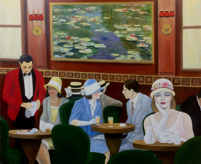 , 'Cafe El Belle Epoch ,' 2016, Conde Contemporary