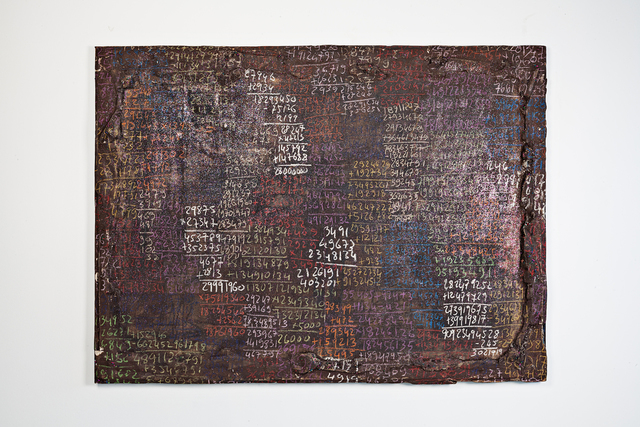 Pascale Marthine Tayou, 'Countdown D', 2013, Mixed Media, Drawing on paper, mixed media, GALLERIA CONTINUA