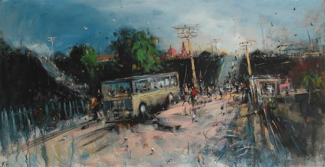""", '"""" The Road 6"""",' 2016, Krokin Gallery"""