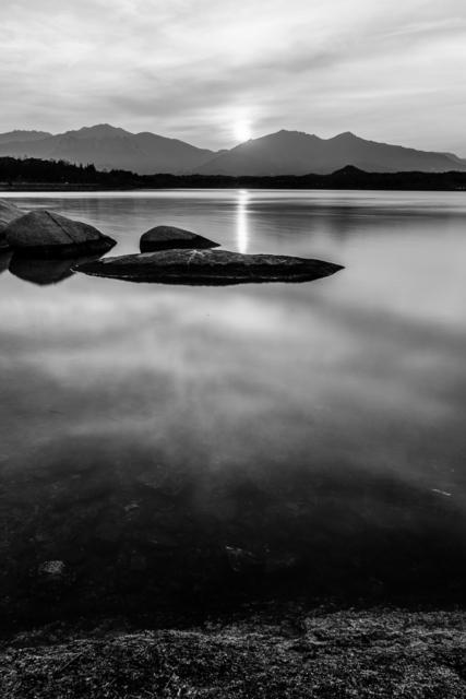 , 'Atardecer en el Lago Yeongnangho II ,' 2016, Baga 06 Art Gallery