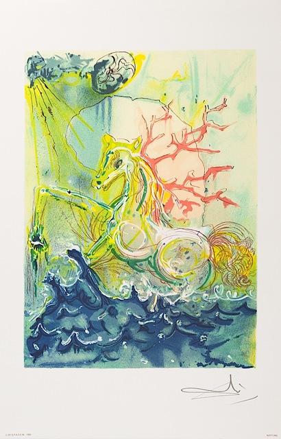 Salvador Dalí, 'Neptune', 1983, Art Lithographies