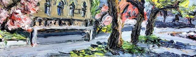 , 'Zug Panorama, links,' 2017, GALERIE URS REICHLIN