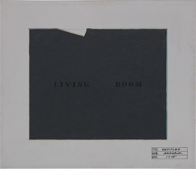 Shusaku Arakawa, 'Untitled', 1968, Phillips