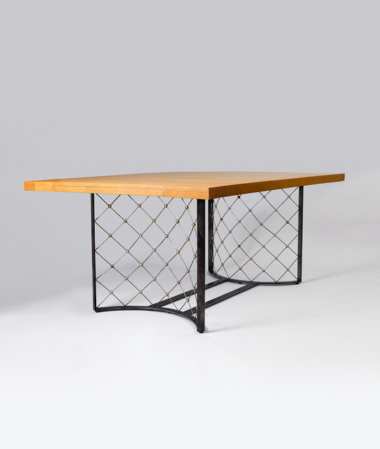 ", '""Tour eiffel"" dining table ,' 1963, Galerie Jacques Lacoste"