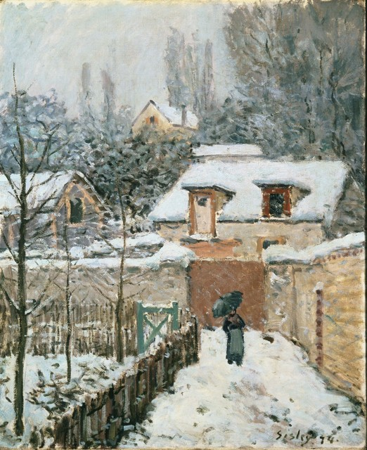 Alfred Sisley, 'Snow at Louveciennes', 1874, Phillips Collection