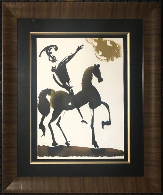 , 'Joshua Brave In War,' 1967, Baterbys Art Gallery