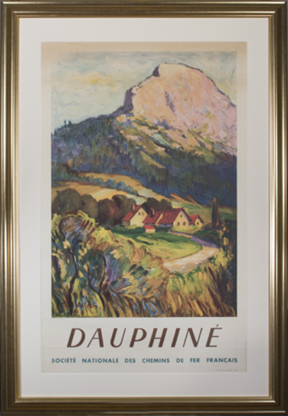 Paul Kelsch, 'Dauphine (Societe Nationale des Chemins de Fer Francais)', 1946, David Barnett Gallery