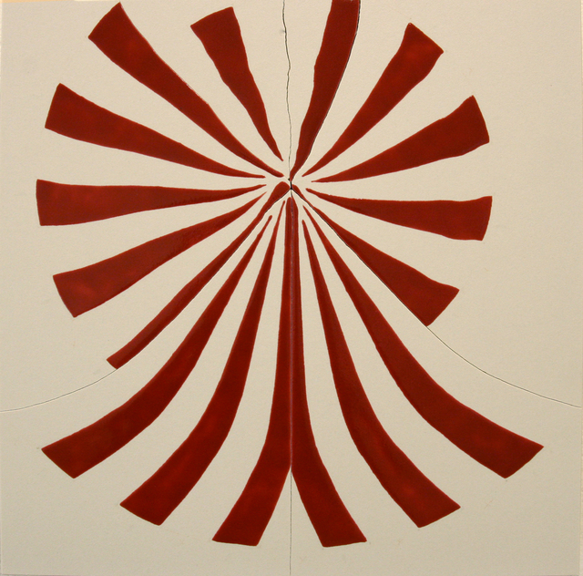 , 'Red Wheel,' 206, Anglim Gilbert Gallery