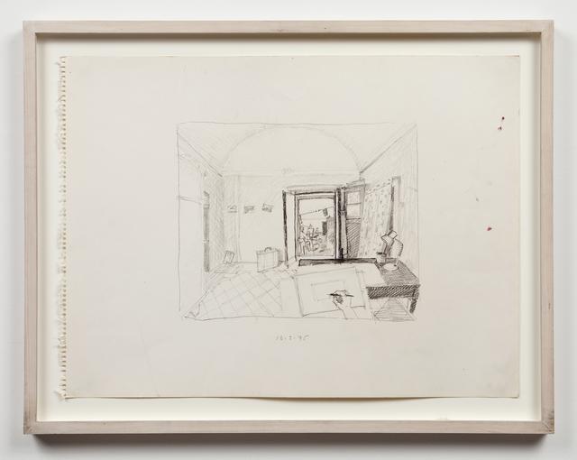 , 'Untitled (studio interior),' 1975, Mai 36 Galerie