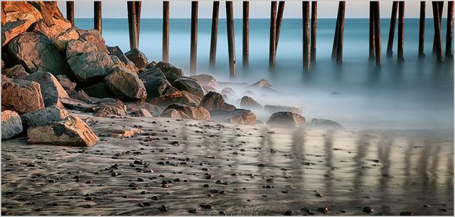 , 'Oceanside Pier and Shore,' 2003, Susan Spiritus Gallery