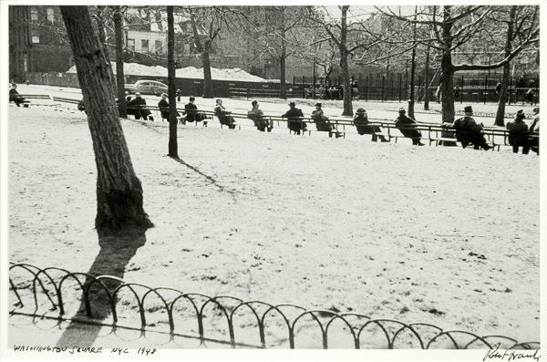 , 'Washington Square, NYC,' 1948, Robert Mann Gallery