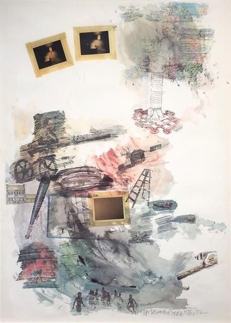 Robert Rauschenberg, 'Lichen', 1972, Gregg Shienbaum Fine Art