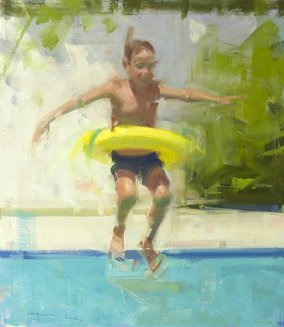 , 'Leaping,' 2015, Sue Greenwood Fine Art