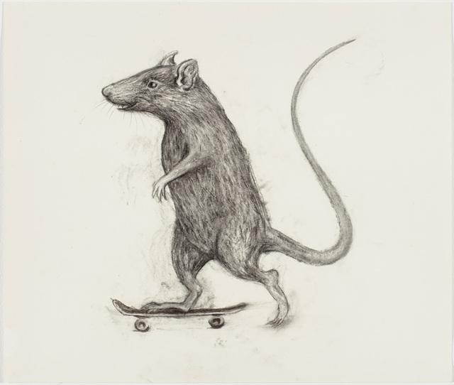 , 'Untitled (Skate Rat),' 2017, P.P.O.W