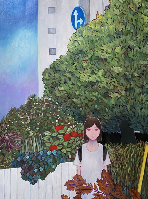 Tatsuhito Horikoshi, 'A Little Journey', 2020, Painting, Oil on canvas, A2Z Art Gallery