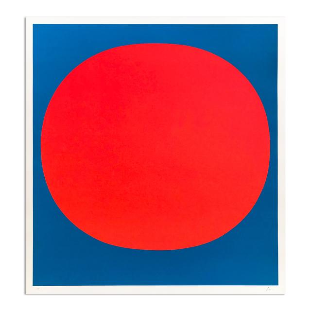 Rupprecht Geiger, 'Red on Blue', 1969, MLTPL