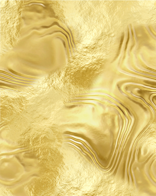, '​​Abstract (Gold),' 2018, Mark Moore Fine Art