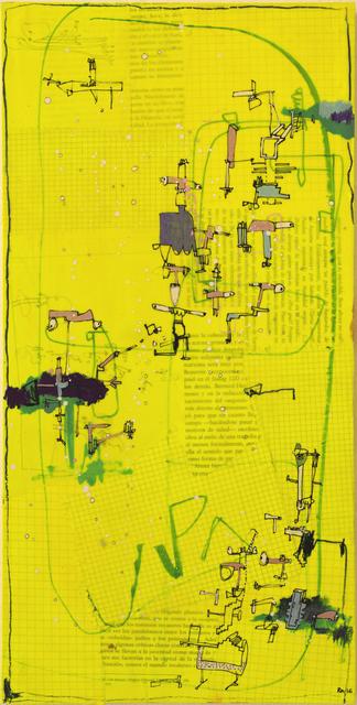, 'Caligrafia 5,' 2016, Allouche Gallery