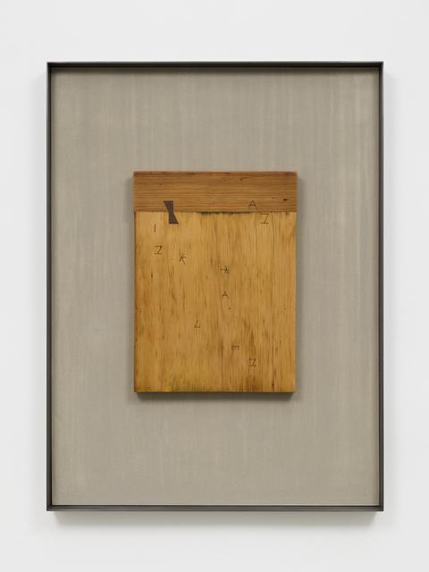 Martin Boyce, 'An Ink Raven', 2017, Tanya Bonakdar Gallery