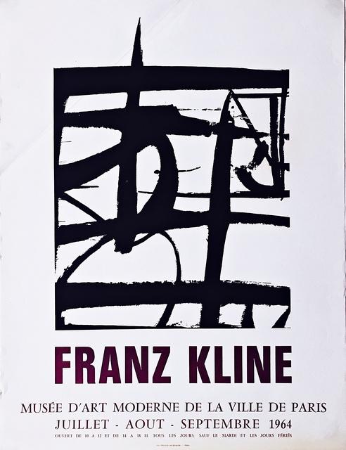 Franz Kline, 'Franz Kline Juillet-Août-Septembre 1964 ', 1964, Alpha 137 Gallery
