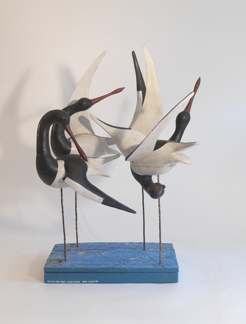 , 'Four Oyster Catchers,' , Dowling Walsh
