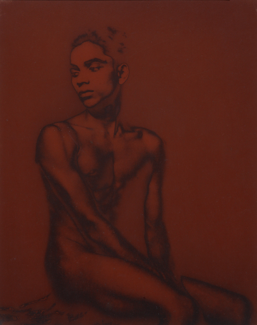 , 'Untitled (Seated Male Nude),' ca. 1934-36, Jhaveri Contemporary
