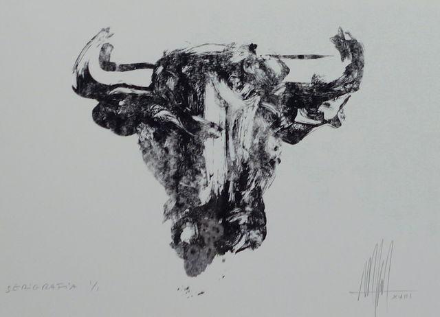 , 'Marc Prat, screenprint Toro III, unique print,' 2018, PontArte