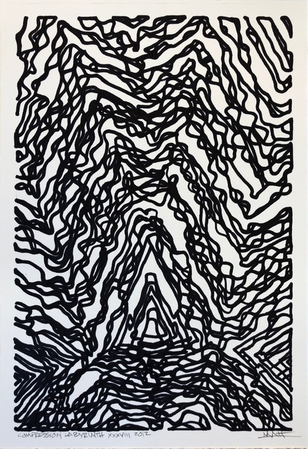, 'Compression Labyrinth,' 2012, M Contemporary Art