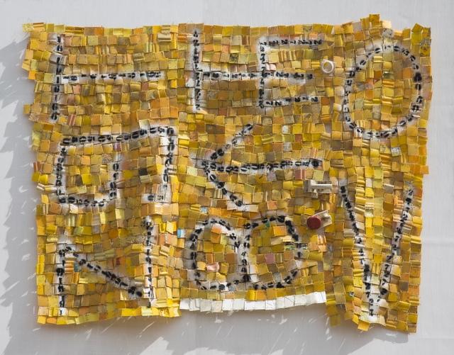 Serge Attukwei Clottey, 'Policies controlled I', 2017, Jane Lombard Gallery