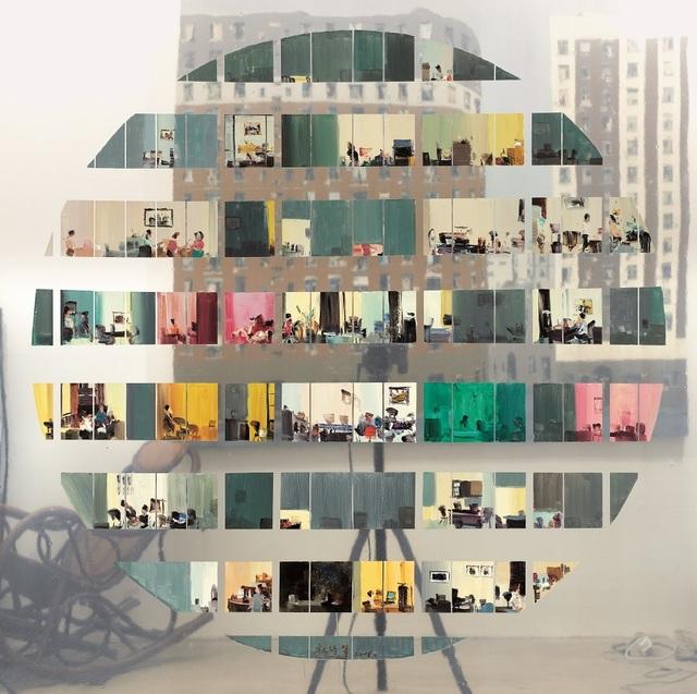 , '城市镜像A,' 2015, ZHAN ZHOU