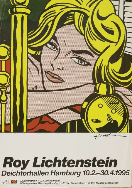 Roy Lichtenstein, 'Blonde Waiting', 1995, Sworders