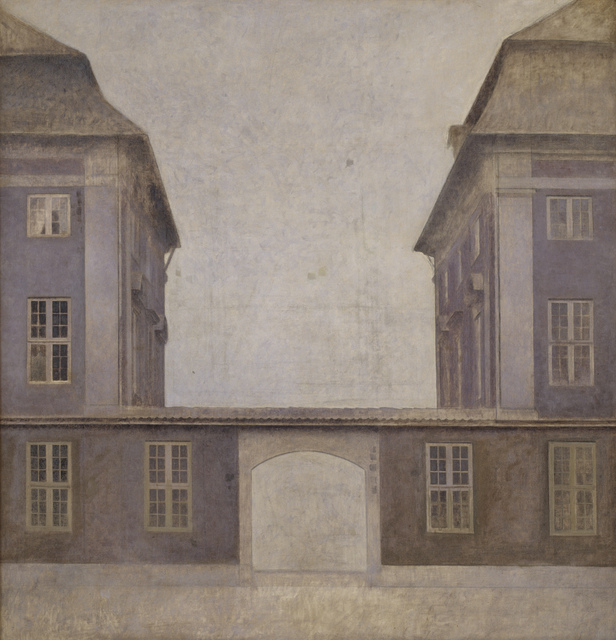 , 'The Buildings of the Asiatic Company, seen from St. Annæ Street ,' 1902, Statens Museum for Kunst