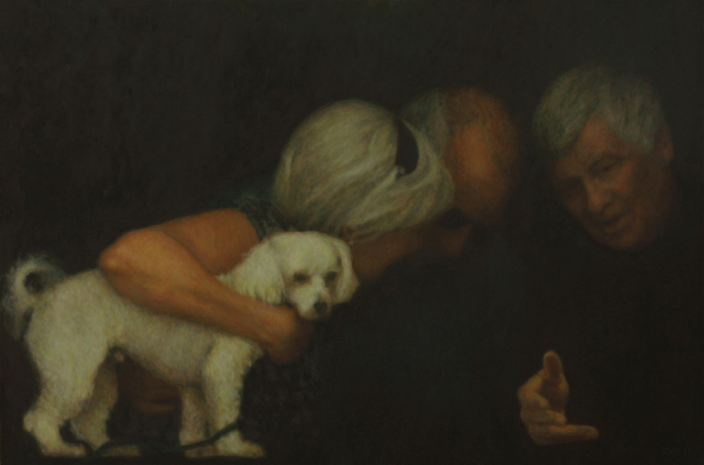, 'The White Dog,' , Zenith Gallery