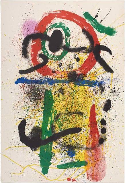 Joan Miró, 'Pierrot Le Fou (M. 392)', 1964, Doyle