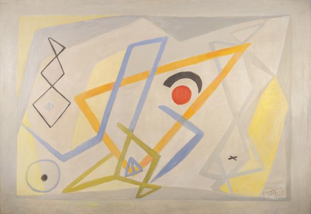 Germaine Derbecq, 'Composición 1', 1964, Painting, Oil on canvas, Calvaresi