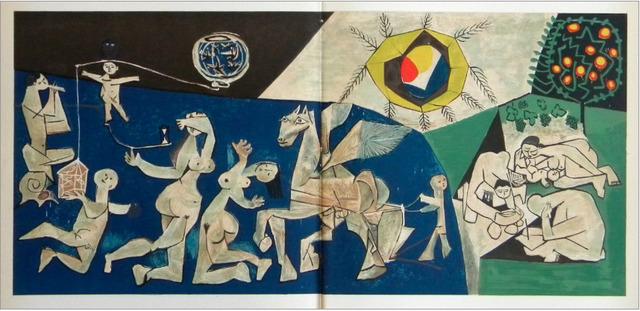 Pablo Picasso, 'Lifes Circus (La Paix Bleu)', 1954, Artsnap