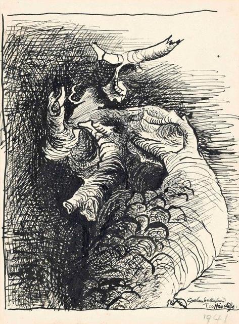 , 'Study for Tree Form,' 1941, Christopher Kingzett Fine Art