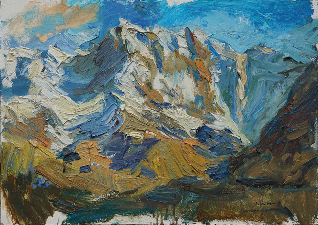 , 'At Sunrise near Mt. Elbrus,' 2017, Gallery 1261