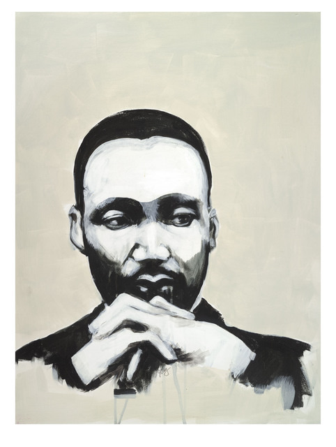 , 'Martin Luther King Jr.,' 2017, Seager Gray Gallery