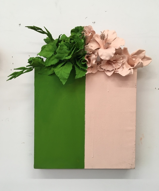 , 'Green+Peach,' 2018, Kahn Gallery