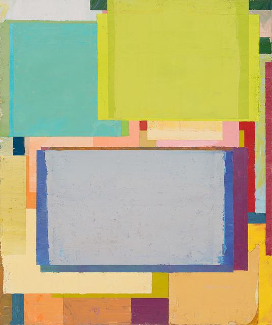 , 'Den Tisch in die Ecke stellen 69,' 2017, PIFO Gallery