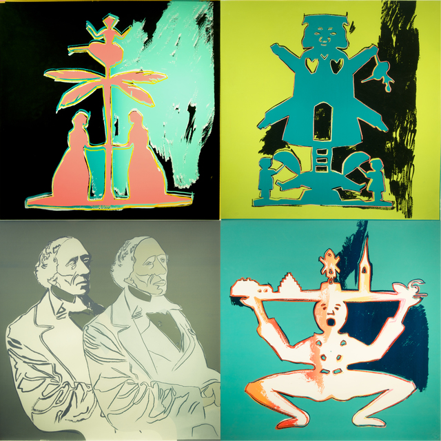 Andy Warhol, 'Hans Christian Andersen Trial Proof  (Portfolio of 4)', 1987, Print, Unique Screenprints on Lenox Museum Board, Collectors Contemporary