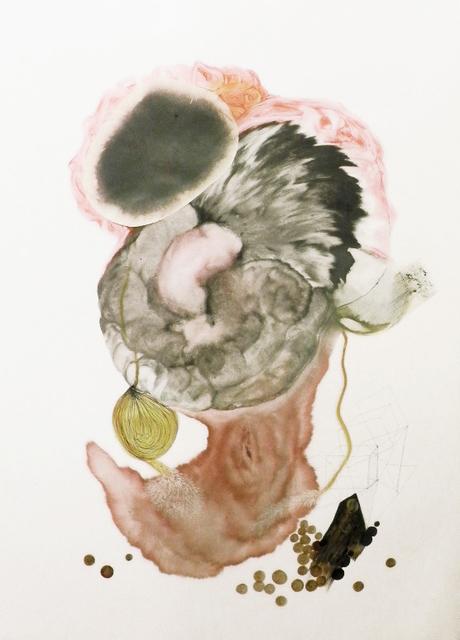 Dorota Buczkowska, 'Ecosystem rysunek kolaż', 2014, Painting, Archaeology of Photography Foundation