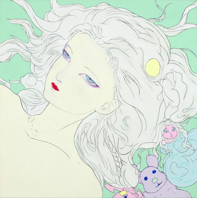, 'Lady Blue,' 2018, Mizuma Art Gallery