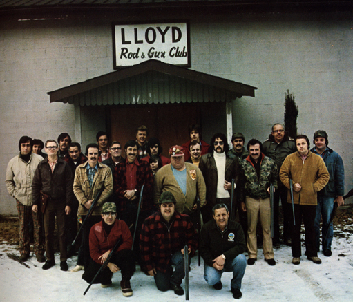 , 'Group Portrait Lloyd Rod & Gun Club,' 1974, PDNB Gallery