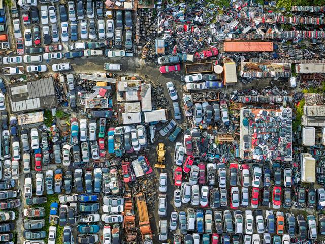, 'Bayview Auto Wreckers, Staten Island 2,' 2017, Benrubi Gallery